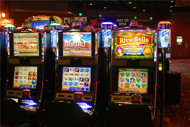 Spielautomaten hackt
